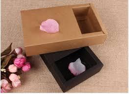 verpackung hochzeitsgeschenk hochzeitsgeschenk verpackung drawer kraft box luxus geschenk