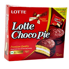 buy lotte choco pie chocolate cake 336gm gift box 114 online