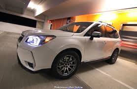 stanced subaru forester project boosted baby hauler 2016 subaru forester xt