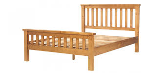 Solid Pine Bed Frame Pine Bed 4 6 Quercus Living