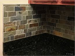 Slate Backsplash Tiles For Kitchen Kitchen Stone Kitchen Backsplashes Made Of Granite Marble Slate
