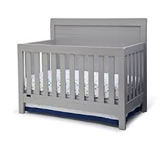 Simmons Convertible Crib Simmons Rowen 4 In 1 Convertible Crib Grey Baby