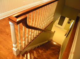 Handrails And Banisters Wood Stairs And Rails And Iron Balusters Wood Handrail Post Stair