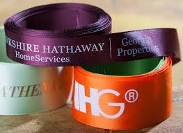 custom ribbon with logo how logo ribbon can make your give away stand out