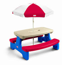 kids rectangle plastic picnic table bench for toddlers with