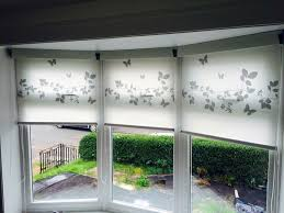 Bay Window Roller Blinds Domestic Window Blinds Fitted Window Blinds Glasgow Hamilton