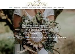 wedding flowers florist botanic art south coast nsw