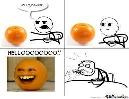 Guy Eating Cereal Meme - cereal guy and annoying orange by cheatsmaster meme center