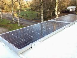 200w solar panel install europe by camper travelling europe by