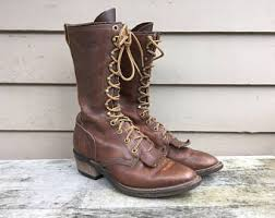 womens boots made in america engineer boots etsy