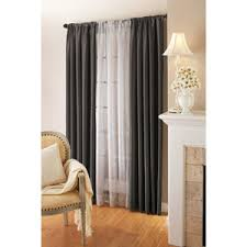 Double Panel Curtains Curtain And Sheers On Same Rod Roselawnlutheran