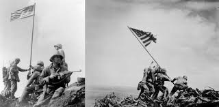 Iwo Jima Flag Raising Staged James Joseph Scotella U2013 Honor The Veterans