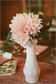 Milk Vases For Centerpieces by Vintage La Wedding At Carondelet House Milk Glass Floral