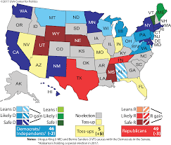 Election Predictions November 5 2016 by Larry J Sabato U0027s Crystal Ball