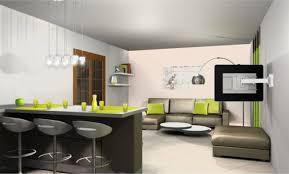plan cuisine ouverte sur salon design salon cuisine americaine deco 71 la rochelle salon