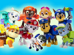 9 paw patrol action pack pups chase marshall rubble rocky zuma