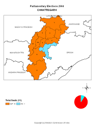 Maharashtra Blank Map by Election Commission Of India