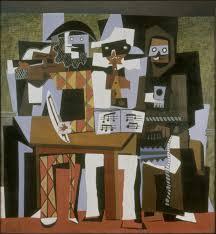 pablo picasso 1921 nous autres iens three ians oil on canvas 204 5 x 188 3 cm philadelphia museum of art