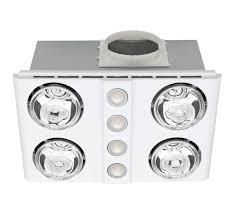 magnus quattro led 3 in 1 bathroom fan white online lighting
