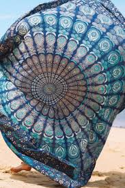 handmade cotton mandala bedspread throw bohemian backdrop