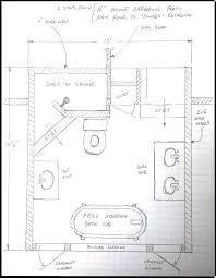 large master bathroom floor plans 6x8 bathroom layout by 6x8 bathroom floor plan tempus
