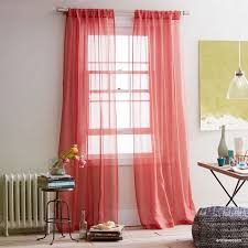 Sheer Coral Curtains Coral Curtain Panels 10 Best Home Office Ideas Images On Pinterest