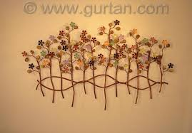 Metal Flower Wall Decor - metal garden flowers outdoor decor u2013 home design and decorating
