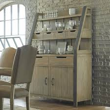 progressive furniture shenandoah rustic buffet and hutch with