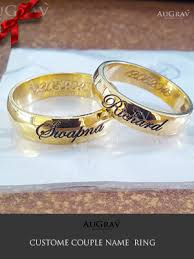 wedding band names name engraved gold rings wedding rings wedding rings