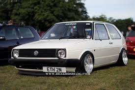 volkswagen wagon slammed dropped vw golf mk2 1 cars one love