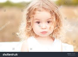 cute baby blonde curly hair stock photo 270746906 shutterstock