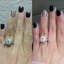 let u0027s see those holiday nails weddingbee