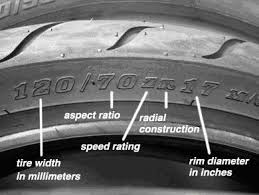 Tire Conversion Chart Motorcycle How To Read Tire Sidewall