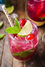 raspberry mojito recipe this cranberry mojito punch is a festive sparkling and fruity