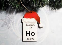 chemistry ornaments periodic table ornament