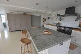 Bespoke Kitchen Island Kitchen Furniture Concreten Island Ideas With Toppoured Diy