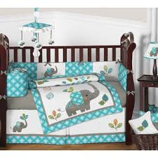 Zutano Elephant Crib Bedding Bohemian Bedding Set Elephant Wayfair