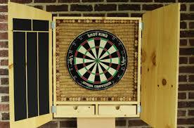 best dart board cabinet best outdoor dart board outdoor ideas