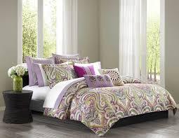 bedroom reversible bed linen set duvet cover with purple duvet