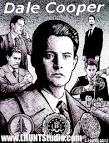 """""""Dale Cooper"""" Pen, Toothbrush and Ink ... - Dale_Cooper_by_Larry_Hunt"""