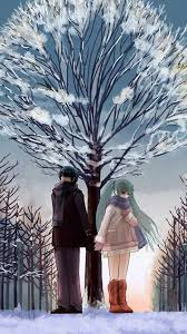 winter anime wallpaper hd ios 7 hd anime iphone 6 6 plus wallpaper and background