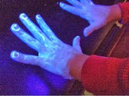 black light and germs buffy s 3rd grade blog glow germs