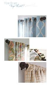 how to hang curtains pier 1 imports