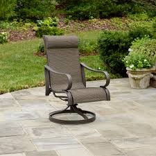 Swivel Rocking Chairs For Patio Jaclyn Smith Marion Single Swivel Rocker Outdoor Living Patio
