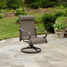 Swivel Rocker Patio Chair by Jaclyn Smith Marion Single Swivel Rocker Outdoor Living Patio
