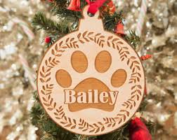 tree decorations ornaments pet gift personalized