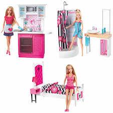 Barbie Dolls House Furniture Barbie Doll U0026 Furniture Set Assorted Toys R Us Australia