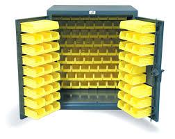 Yellow Metal Storage Cabinet Storage Bins Ventilated Industrial Storage Cabinet Wire Bins