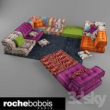 modular sofa roche bobois mah jong free 3d model 3dhunt co