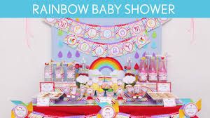 Youtube Baby Shower Ideas by Rainbow Baby Shower Party Ideas Rainbow S14 Youtube